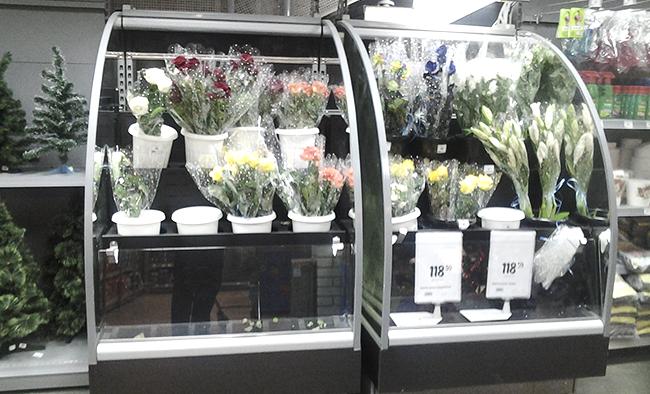 Холодильная горка для цветов LIDA-STELLA FLORA